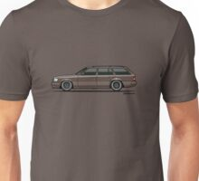 Mercedes Benz W124 300TE Wagon (Anthracite Grey) Unisex T-Shirt