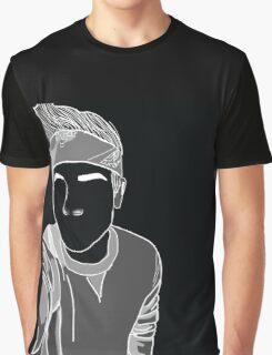 CONNOR FRANTA OUTLINE Graphic T-Shirt