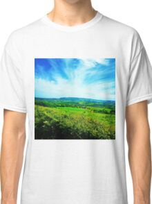 Isle of Wight countryside Classic T-Shirt