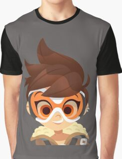 Overwatch Tracer Graphic T-Shirt