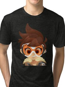 Overwatch Tracer Tri-blend T-Shirt