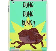 Dung Dung Dung! iPad Case/Skin