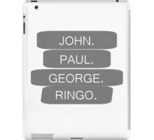Famous Four iPad Case/Skin