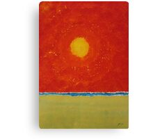 Endless Summer original painting Canvas Print