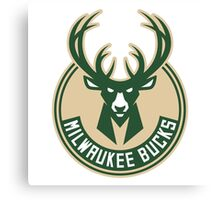 Milwaukee Bucks 01 Canvas Print