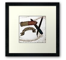 beauty can be deadly Framed Print