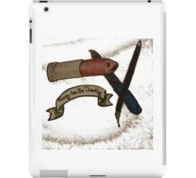 beauty can be deadly iPad Case/Skin
