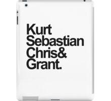 KurtSebastianChris&Grant iPad Case/Skin
