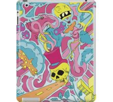 Trippy city art drawing iPad Case/Skin