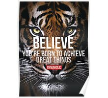 Believe You're Born To Achieve Great Things Poster