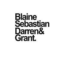 BlaineSebastianDarren&Grant by coopbastian