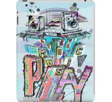 Let the Music Play ! iPad Case/Skin