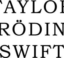 Taylor's Paradox Sticker
