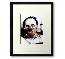 Dr Lecter Framed Print