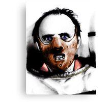 Dr Lecter Canvas Print
