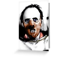 Dr Lecter Greeting Card