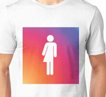 Rainbow gender neutral symbol. Unisex T-Shirt