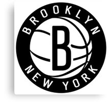 Brooklyn Nets 02 Canvas Print