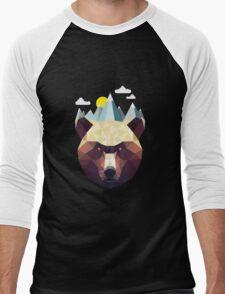 Bear Mountain Men's Baseball ¾ T-Shirt