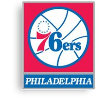 Philadelphia 76ers 01 Canvas Print