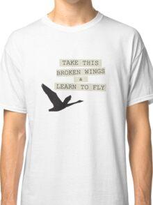 The Beatles Blackbird Song Lyrics Classic T-Shirt