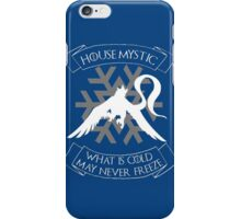 House Mystic (white) iPhone Case/Skin