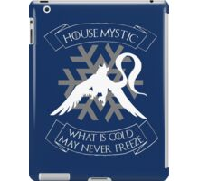 House Mystic (white) iPad Case/Skin