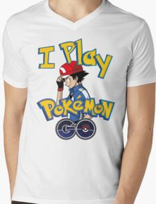 I play pokemon go! Mens V-Neck T-Shirt