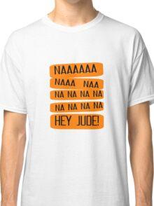 Hey Jude The Beatles Song Lyrics 60s Rock Music John Lennon Paul McCartney Classic T-Shirt