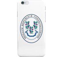 Seal of Connecticut  iPhone Case/Skin