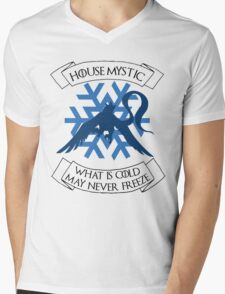 House Mystic (dark) Mens V-Neck T-Shirt