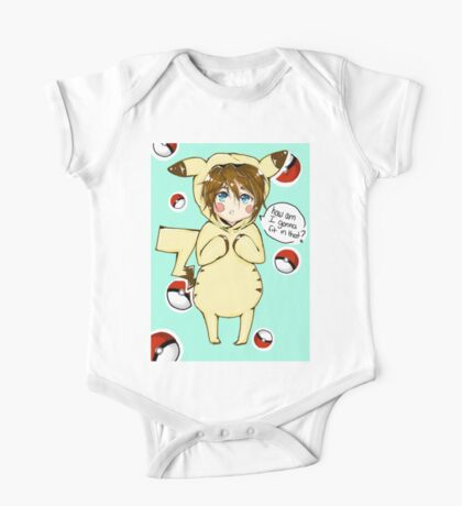 pika-cute One Piece - Short Sleeve