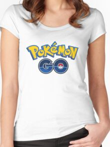 POKEMON GO ICON Women's Fitted Scoop T-Shirt