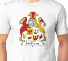 McIntyre Coat of Arms / McIntyre Family Crest Unisex T-Shirt