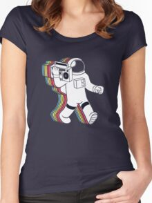 FUNKALICIOUS Women's Fitted Scoop T-Shirt