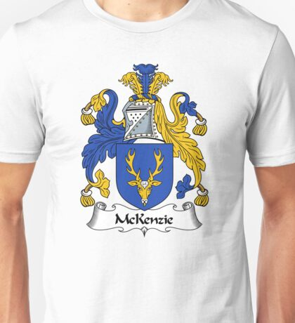 McKenzie Coat of Arms / McKenzie Family Crest Unisex T-Shirt