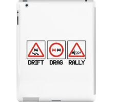 Drift Drag Rally (2) iPad Case/Skin