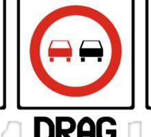 Drift Drag Rally (2) Sticker