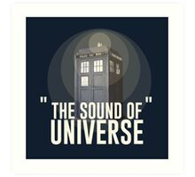The Sound of Universe Art Print