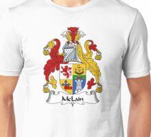 McLain Coat of Arms / McLain Family Crest Unisex T-Shirt