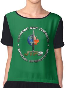 Canadian SOF Command Special Operations Chiffon Top