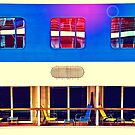 Cruising Windows and Chairs by susan stone
