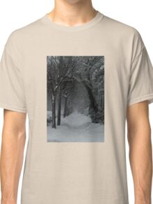 Winter Scene in Montreal Classic T-Shirt
