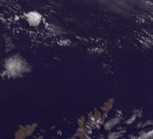 Faroe Islands Denmark Satellite Image Sticker