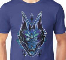 Trippy wolf brutal drawing art Unisex T-Shirt