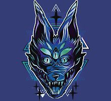 Trippy wolf brutal drawing art Unisex T-Shirt