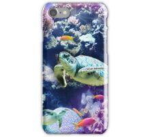 Undersea turtle iPhone Case/Skin