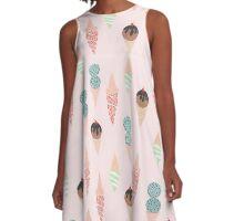 Ice Cream Treats! A-Line Dress