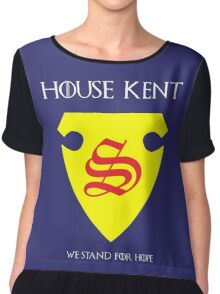 House Kent - Game of Thrones x Superman Mashup Chiffon Top
