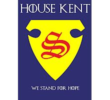 House Kent - Game of Thrones x Superman Mashup Photographic Print